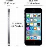 Image result for apple iphone 5s dimension. Size: 157 x 160. Source: store.apple.com