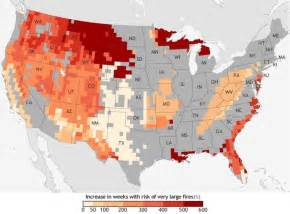 map of oregon 2015 fires noaa maps the raging future of american wildfires