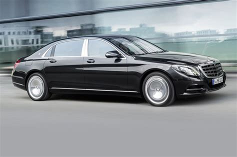maybach bentley mercedes maybach s class limo revealed rolls bentley on