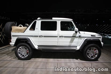 maybach jeep 2017 mercedes maybach g 650 landaulet right side at the iaa