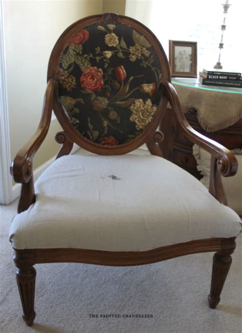 armchair reupholstering how to reupholster a french armchair