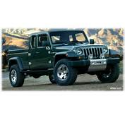 The Jeep Gladiator Concept Car 2005