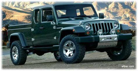 Jeeps New Truck Jeep Gladiator Concept Car