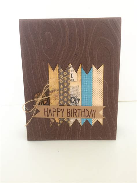 Handmade Birthday Cards For Guys - mens birthday card handmade card for birthday card for