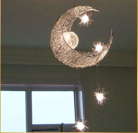 bedroom ceiling light shades led g4 light source moon modern children kid child