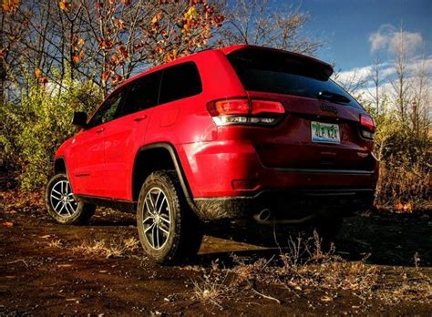 raised jeep grand the jeep grand trailhawk offers roading fit