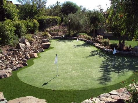 make backyard golf course outdoortheme com