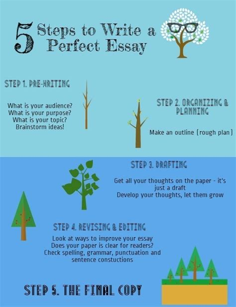 steps to writing a thesis 5 steps to write a essay visual ly