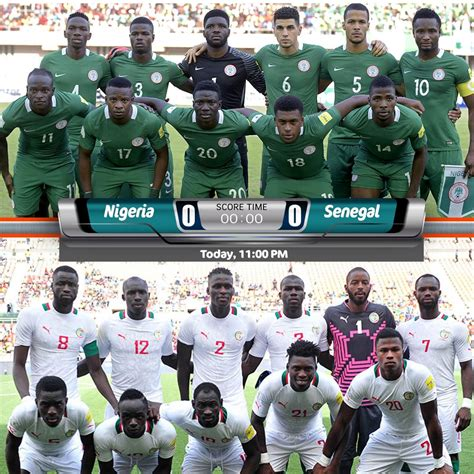 Nigeria Match Friendly Match Nigeria Vs Senegal 1 1 Highlights