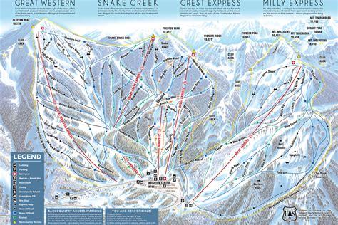 brighton trail map skigebiet brighton utah usa aktuelle infos zum skigebiet