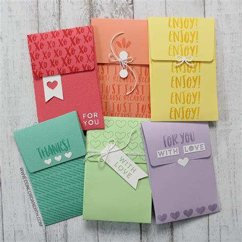 concord  die love notes envelope die