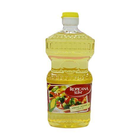 jual tropicana slim corn minyak jagung 946 ml harga kualitas terjamin blibli