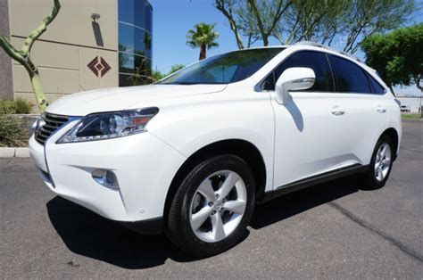 suv lexus white 2015 pearl white lexus rx350 suv 1 owner az car like 10