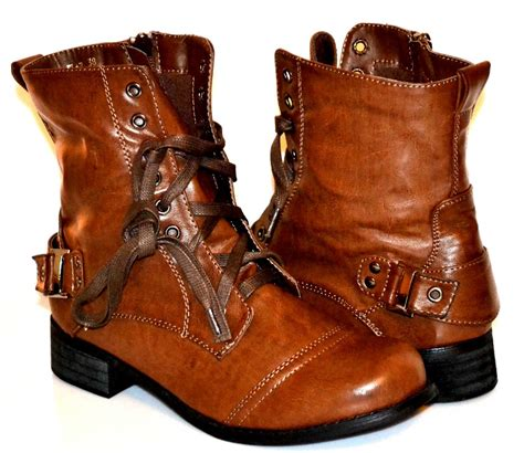womens lace up combat boots in five colors best