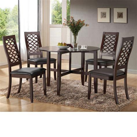 Irma Set dreamfurniture irma espresso finish dining table w