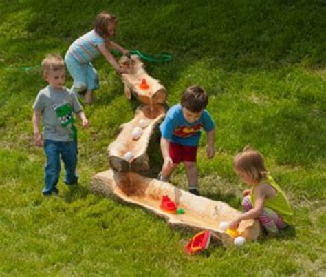 Backyard Water Play by Water Playground Ideas