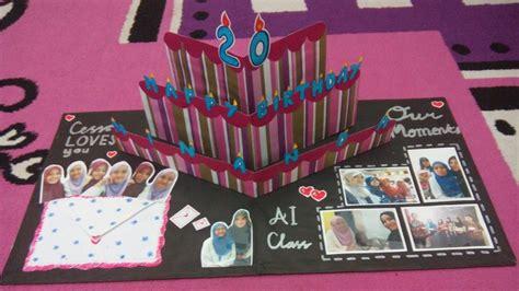 tutorial membuat tas ulang tahun diy pop up card ideas tutorial membuat pop art card