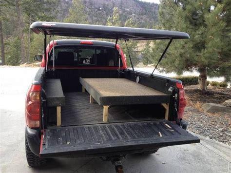 pop up cer truck bed undercover tonneau pop up tent build pickup truck