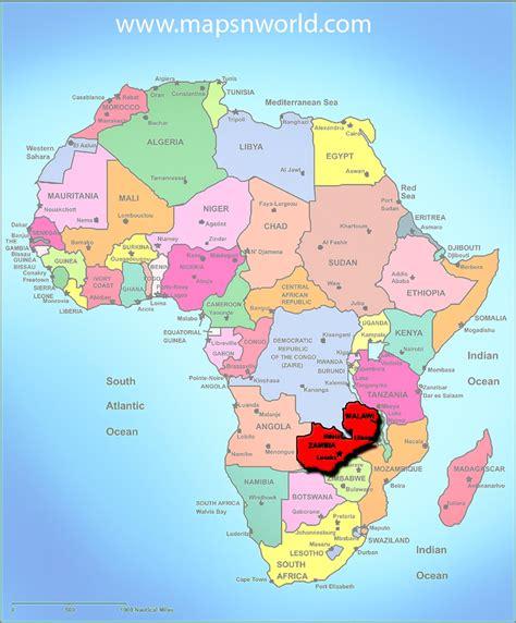 Zambia Search Zambia Africa Map My