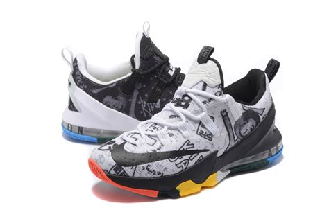 nike basketball shoes wholesale 2017 wholesale multicolor what the nike lebron 13 low lmtd