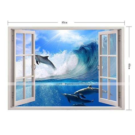 dolphin home decor 3d wall stickers wall decals dolphin home decor vinyl