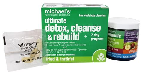 Best Detox Cleanse Programs by Buy Michael S Naturopathic Programs Ultimate Detox