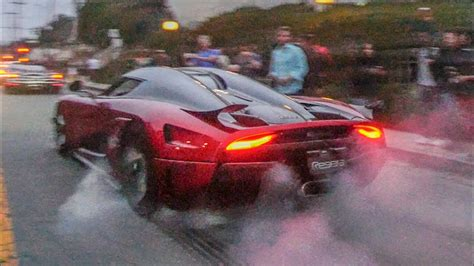 koenigsegg korea koenigsegg regera does insane burnout doovi