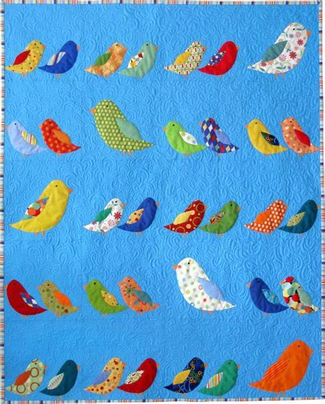 Quilt Patterns With Birds bird crossing quilt by kevin kosbab quilting pattern