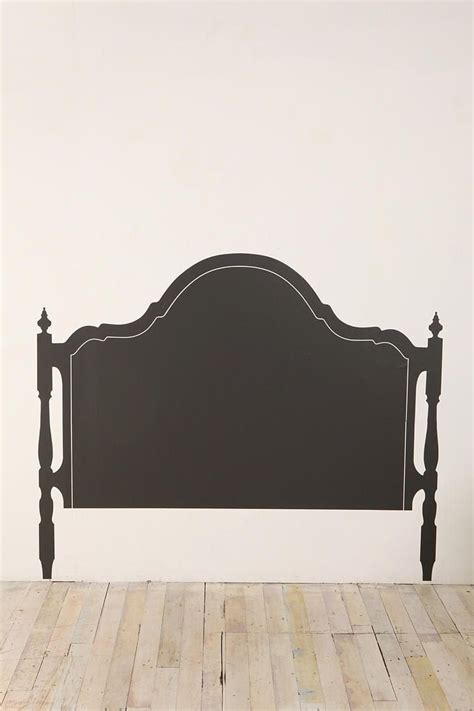 headboard painted on wall diy paint headboard on wall i bet you could find this in