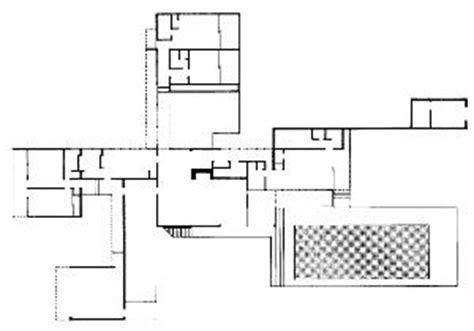 kaufmann desert house floor plan kaufmann house desert house palm springs