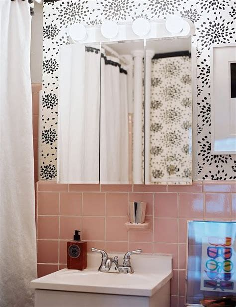 robert s pink and black bathroom makeover retro renovation 73 best what to do with a 50 s pink bathroom images on