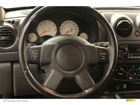 jeep liberty steering wheel 2002 jeep liberty sport 4x4 dark slate gray steering wheel