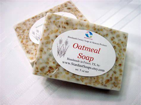 oatmeal soap handmade gentle exfoliation soothing