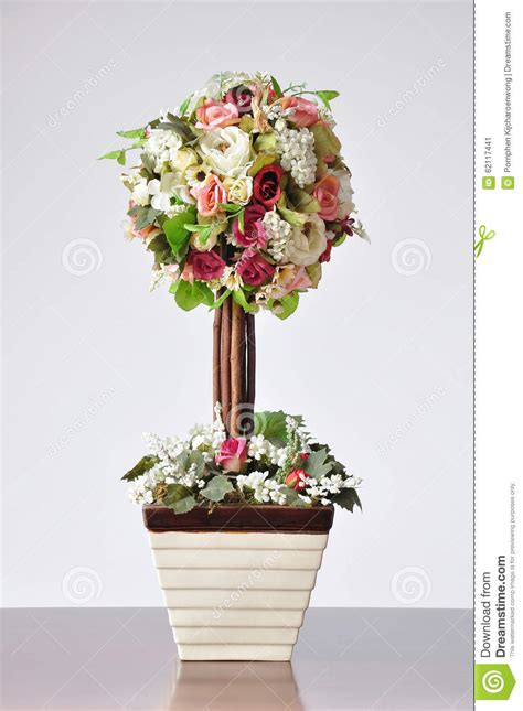 stock fiori artificiali vases artificial flowers stock image image of indoor