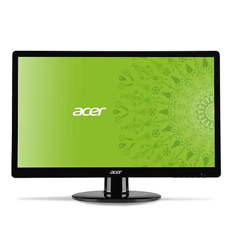 Acer G227hql Led Monitor 215 Hd acer s 21 5 quot led hd 60hz widescreen monitor 7606126