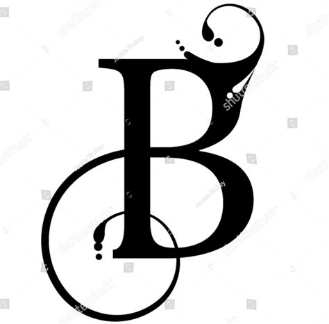 the letter b tattoo designs 70 letter b designs ideas and templates