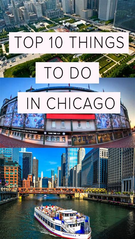 the top things you can t miss in chicago chicago