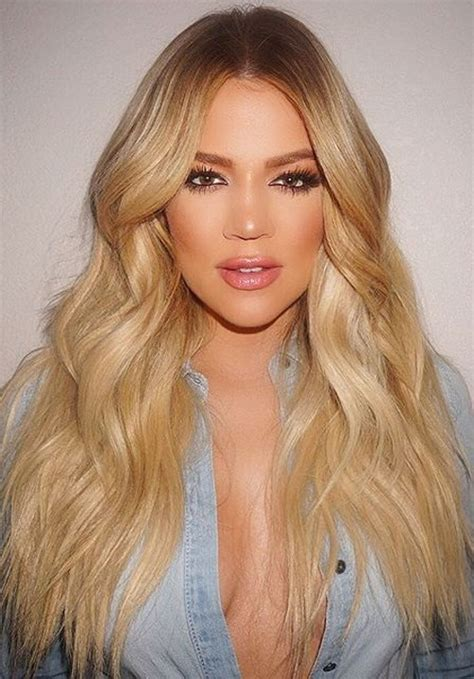 blonde hairstyles 2015 pinterest khloe kardashian blonde hair 2015 google search hair