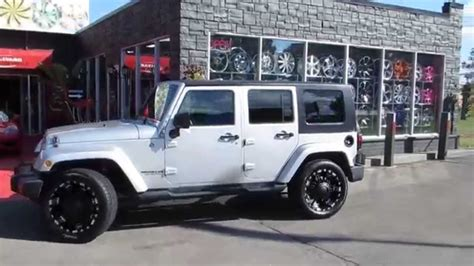 20 Inch Jeep Rims Hillyards Lions 2013 Jeep Wrangler On 20 Inch Road