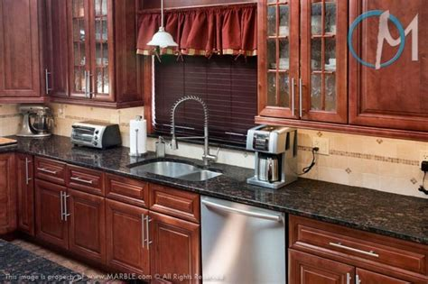 grey granite countertops with cinnamon cherry cabinets design bookmark 21144