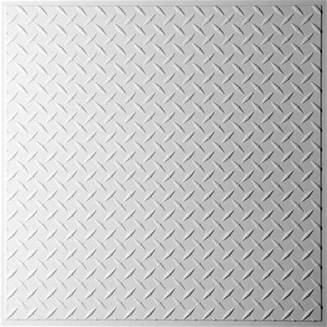 plate ceiling tiles ceilume plate white 2 ft x 2 ft lay in or glue