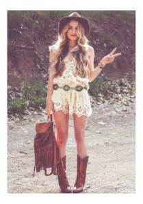 bohemian style american hippie bohemian style boho summer dress and boots