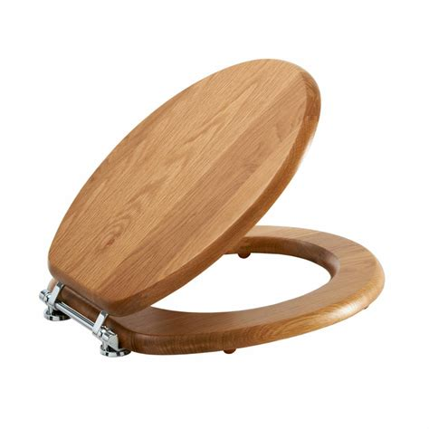 wood toilet seat bq oak wooden toilet seat victoriaplum