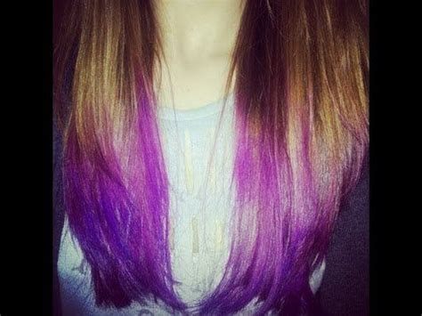 7 Tips For Dying Your Hair Brown by 16 Best Images About Cool Hair On Dip Dyed