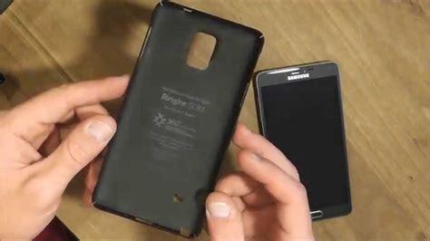 Casing Rearth Ringke Slim Samsung Galaxy Note 4 Aksesoris ringke slim in black for the galaxy note 4