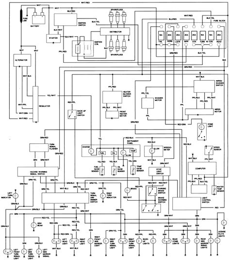 1979 toyota land cruiser wiring diagram wiring diagram