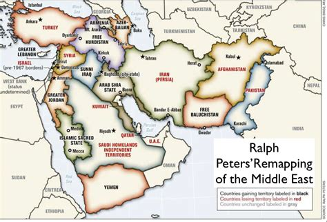 middle east map key robin wright s audacious remapping of the middle east