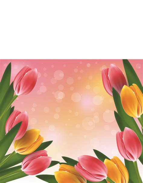 any design of flowers vector set of spring flowers design graphics 06 free