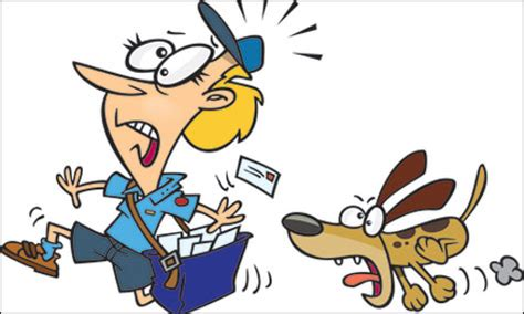why do dogs bark at the mailman why does my the mailman
