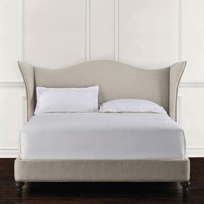 frontgate bed kendall upholstered bed frontgate
